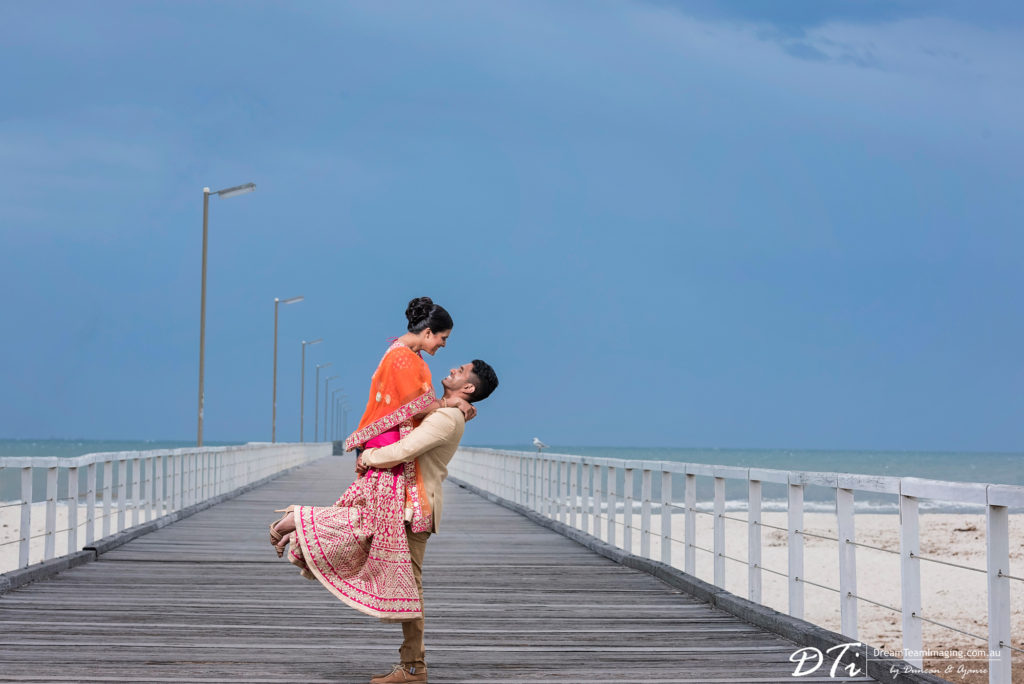 Semaphore Beach Pre wedding photograpy