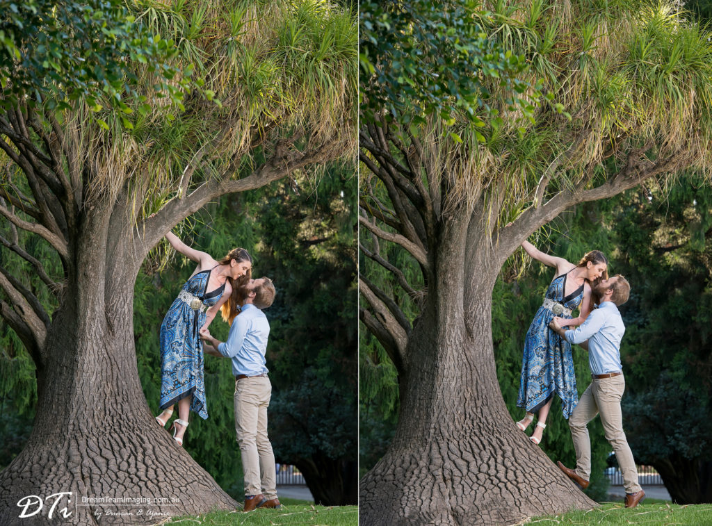 Botanic Park Engagement Session