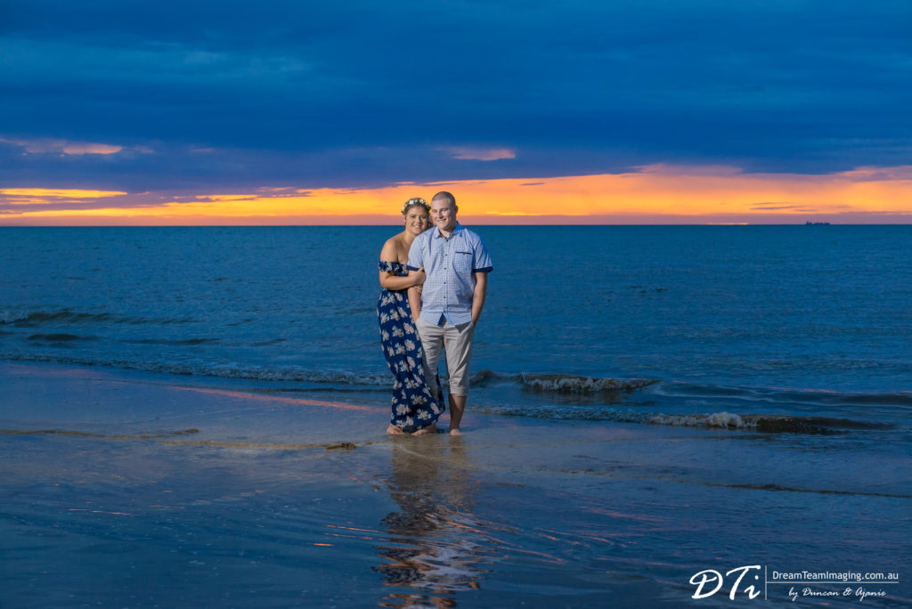Sunset Pre Wedding Adelaide