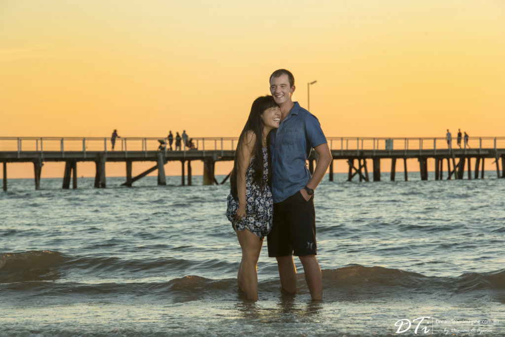 Beach Pre Wedding Adelaide