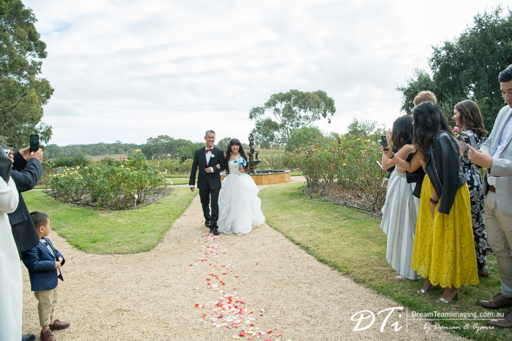 Lyndoch Hill Wedding, Barossa Chateau Wedding