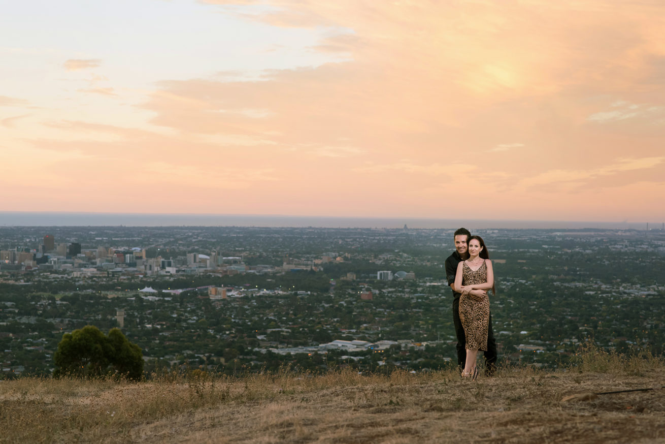 Mount Osmond Pre wedding, DreamTeamImaging