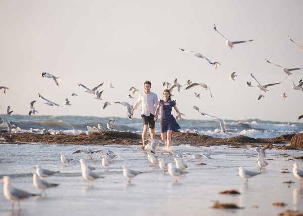 Best Wedding Photographers Adelaide, Glenelg Beach pre wedding, DreamTeamImaging