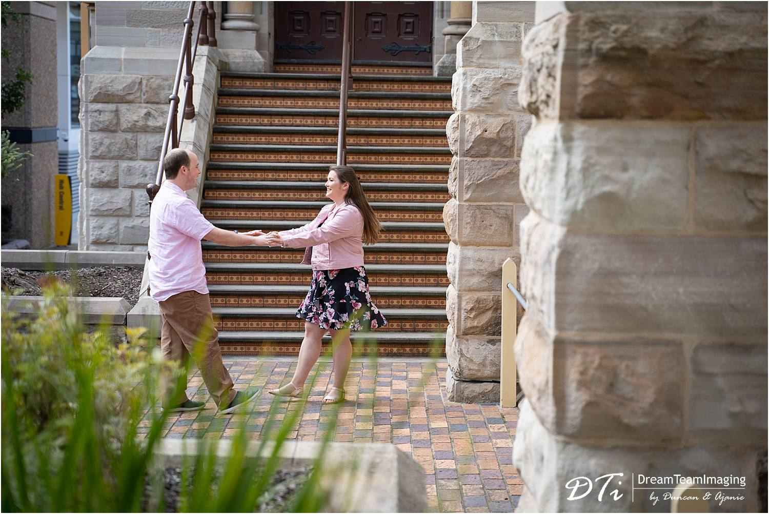 North Terrace Pre wedding, Adelaide cbd Pre wedding, Uni Adelaide pre wedding