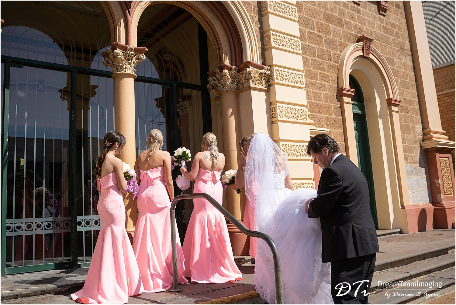 St Andrew's by the beach Glenelg wedding