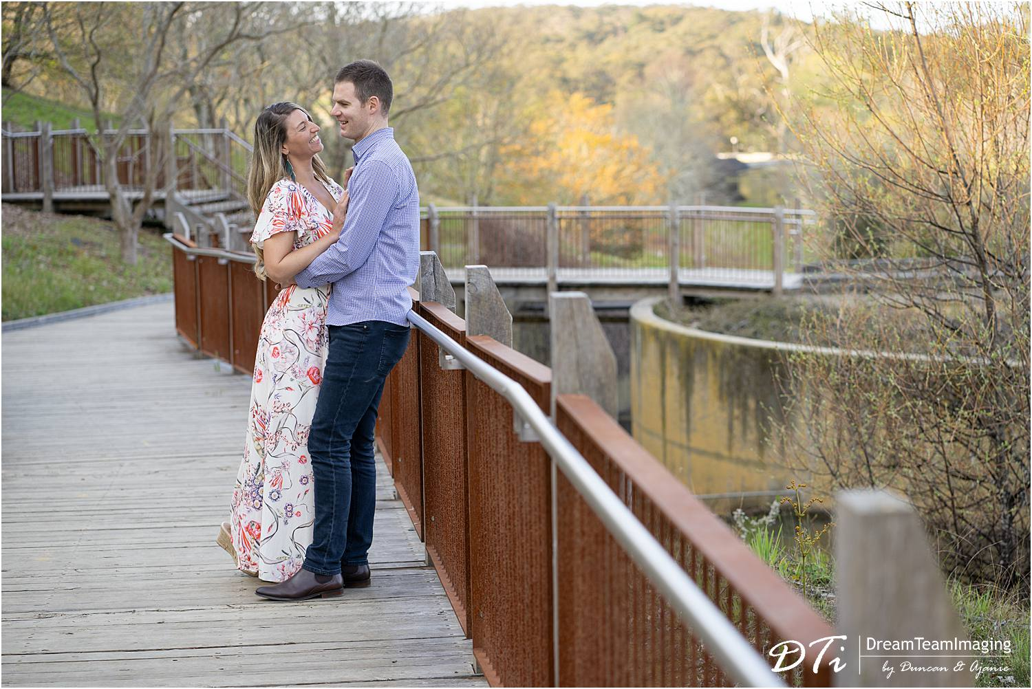 Mount Lofty Botanic gardens pre wedding